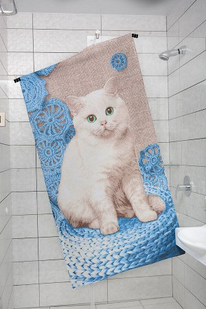 Полотенце банное Котенок