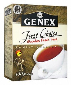 Чай Дженекс чёрный, 100пак