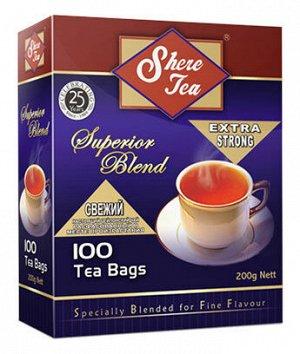 Чай Шер (синий), 100пак