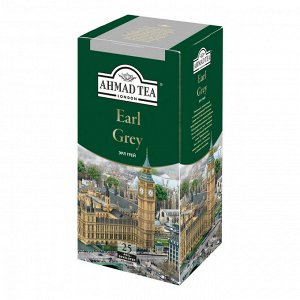"Чай Ahmad ""Earl Grey"", черный с бергамотом, 25 пак"