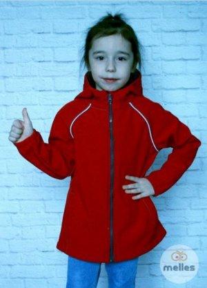 Куртка Softshell красная