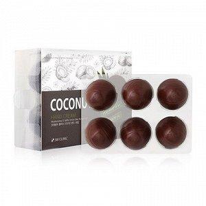 Увлажняющий крем для рук с кокосом 3W CLINIC Coconut Hand Cream 30g x 6pu