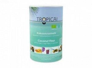 Мука Органическая кокосовая  TROPICAI, 500 гр банка1/6
