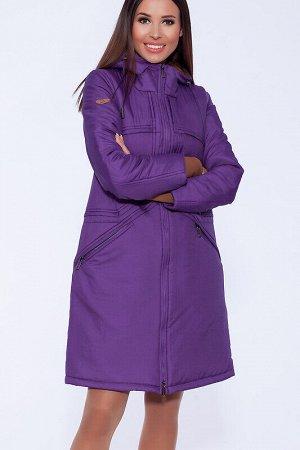 Пальто Состав: Нейлон 100%.  Цвет: Фиолетовый.