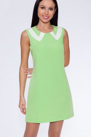 Платье Состав: Вискоза 75%, Поливискоза 25%.  Цвет: Салатовый.