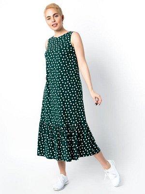 Сарафан Цвет: Зеленый.