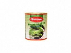 Огурцы маринованные 9,7 кг (сухой вес 5,6 кг) Mamminger