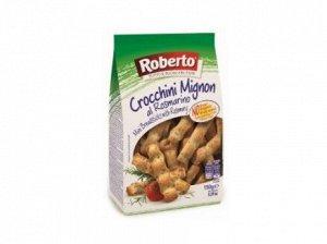 Палочки хлебные Гриссини Кроккини миньон с розмарином 150 гр Roberto