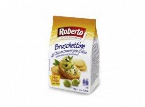 Хлебцы Брускеттине с оливковым маслом 100 гр Roberto