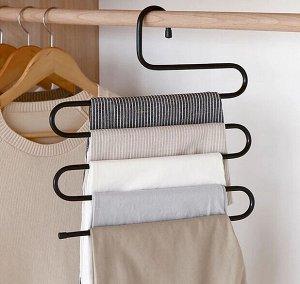Вешалка для брюк и юбок «Змейка», 33×33 см