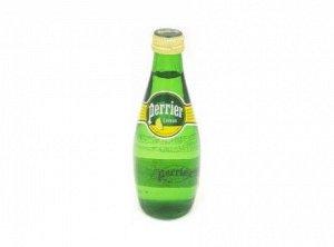 Вода минеральная Лимон стекло 330 мл Perrier
