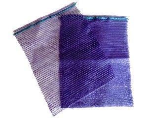 Мешок сетка для овощей  40кг фиолетовый