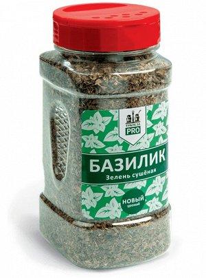 Базилик Базилик зелень сушеная  Для профессионалов кухни «Трапеза PRO» представляет серию пряностей, приправ и кулинарных добавок в кейтеринговой упаковке по 0,5 литра. Прозрачная банка позволяет виде