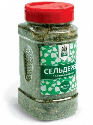 Сельдерей Сельдерей зелень сушеная  Для профессионалов кухни «Трапеза PRO» представляет серию пряностей, приправ и кулинарных добавок в кейтеринговой упаковке по 0,5 литра. Прозрачная банка позволяет