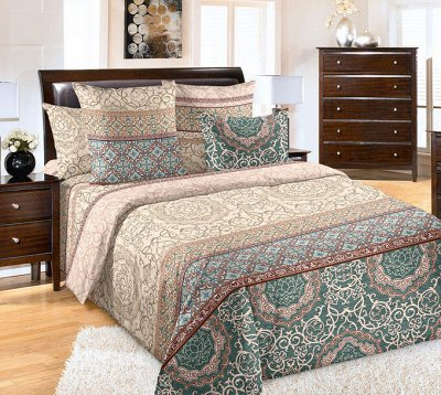 ECOLAN — домашний текстиль, яркие принты! Наматрасники — Постельное белье (перкаль) - 2сп люкс — Постельное белье