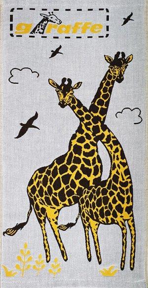 Полотенце хлопковое Жирафы