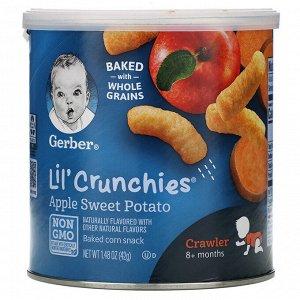 Gerber, Lil' Crunchies, палочки для малышей от 8 месяцев (42 g)