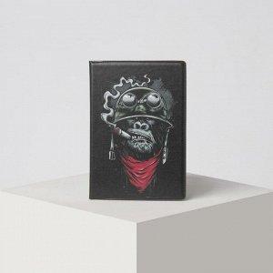 Обложка для паспорта, цвет чёрный 5243204