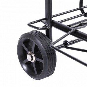 Тележка багажная, двухколёсная, грузоподъёмность 30 кг
