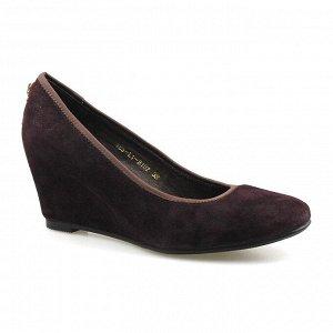 Туфли Страна производитель: Китай Размер женской обуви x: 35 Полнота обуви: Тип «F» или «Fx» Сезон: Весна/осень Тип носка: Закрытый Форма мыска/носка: Закругленный Каблук/Подошва: Танкетка Высота кабл