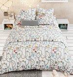 КПБ 1,5 спальный с простыней на резинке
