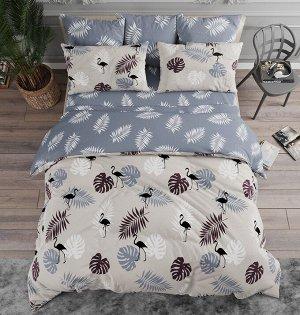 Комплект из Поплина 2 спальный Тропики