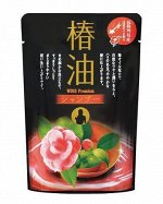 """Восстанавливающий шампунь с эфирным маслом Камелии """"Wins premium camellia oil shampoo"""" (мягкая упаковка) 400 мл / 20"""