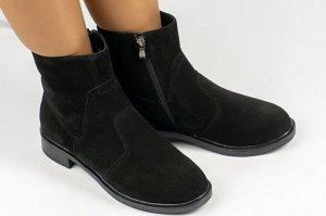 Ботинки Тип: ботинки Подошва: ТЭП Сезон: демисезон Вид застежки: молния и шнурки Верх: натуральный велюр Подклад: байка
