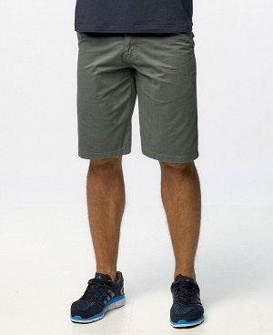 . Серовато-зеленый; Черный; Песочный; Темно-зеленый; Серый; Синий;     Мужские шорты застегиваются на молнию и пуговицу, имеют петли для ремня, удобные передние косые карманы, задние накладные карманы