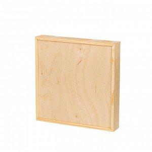 Деревянная заготовка Арт-панель фанера 20*20см