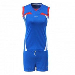 Форма волейбольная женская, синий