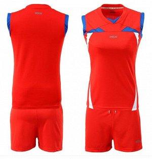 Форма волейбольная женская, красный