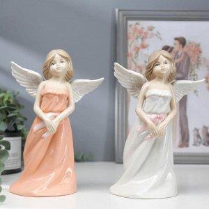 "Сувенир керамика ""Девушка-ангел в сарафане""МИКС 20,7х14х8,2 см"
