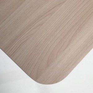 Стол ломберный 790(1180)х590х750, металик серый/Ясень шимо светлый