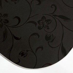 Стол ломберный 790(1180)х590х750, хром/пластик шоколадные цветы