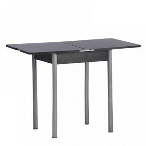 Стол ломберный Мини 500/1000х590х750 металик серый/Венге