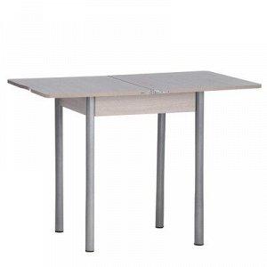 Стол ломберный Мини 500/1000х590х750 металик серый/Ясень шимо светлый