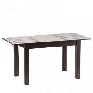 Стол обеденный Бруно 1100х700 венге/рисунок плитка