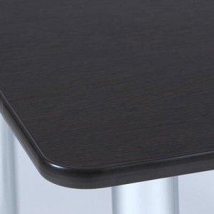Стол обеденный квадратный 800х800, Венге