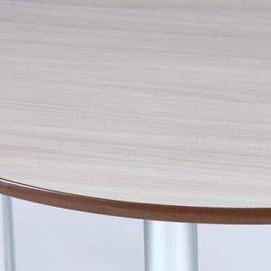 Стол обеденный круглый D 1000, Ясень шимо светлый