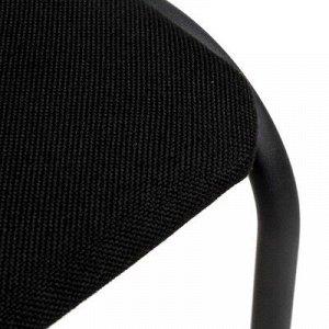 Стул Аскона, ткань черная, каркас черный