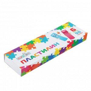 ClipStudio Пластилин 6 цветов 90 грамм в картонной упаковке
