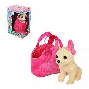 ИГРОЛЕНД Игрушка мягкая в сумке, текстильные материалы, 18х27х13см, 2 дизайна