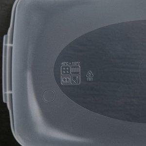 """Набор контейнеров для замораживания продуктов 0,7 л """"Морозко"""" 3 шт, цвет МИКС"""