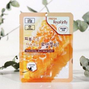 Тканевая маска с пчелиным маточным молочком Fresh Royal Jelly Mask Sheet