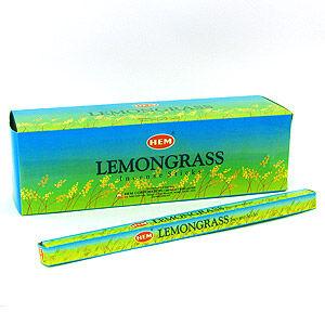 Благовония HEM, четырехгранники, Lemongrass (Лимонник)