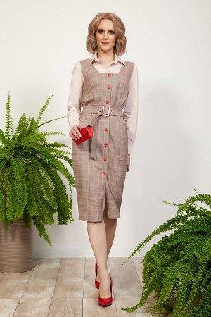 Комплект женский сарафан и блузка