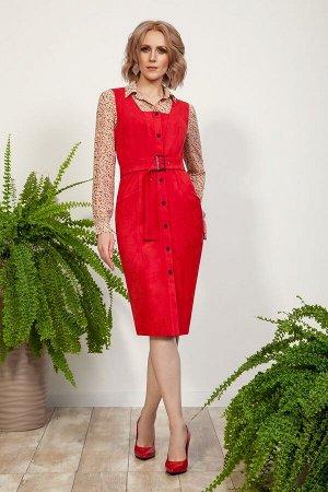 Комплект женский блуза и сарафан