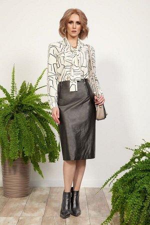 Комплект женский блузка и юбка