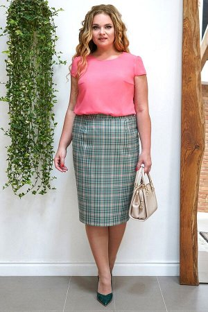 Комплект женский жакет, блузка и юбка
